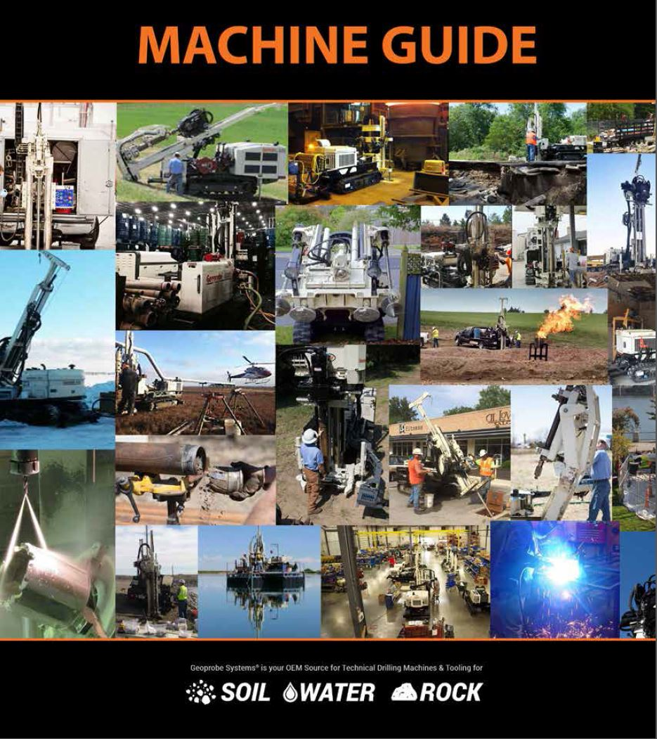 Guide machines
